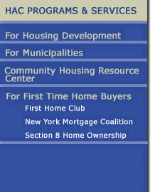 Housing Action Council First Time Home Buyers